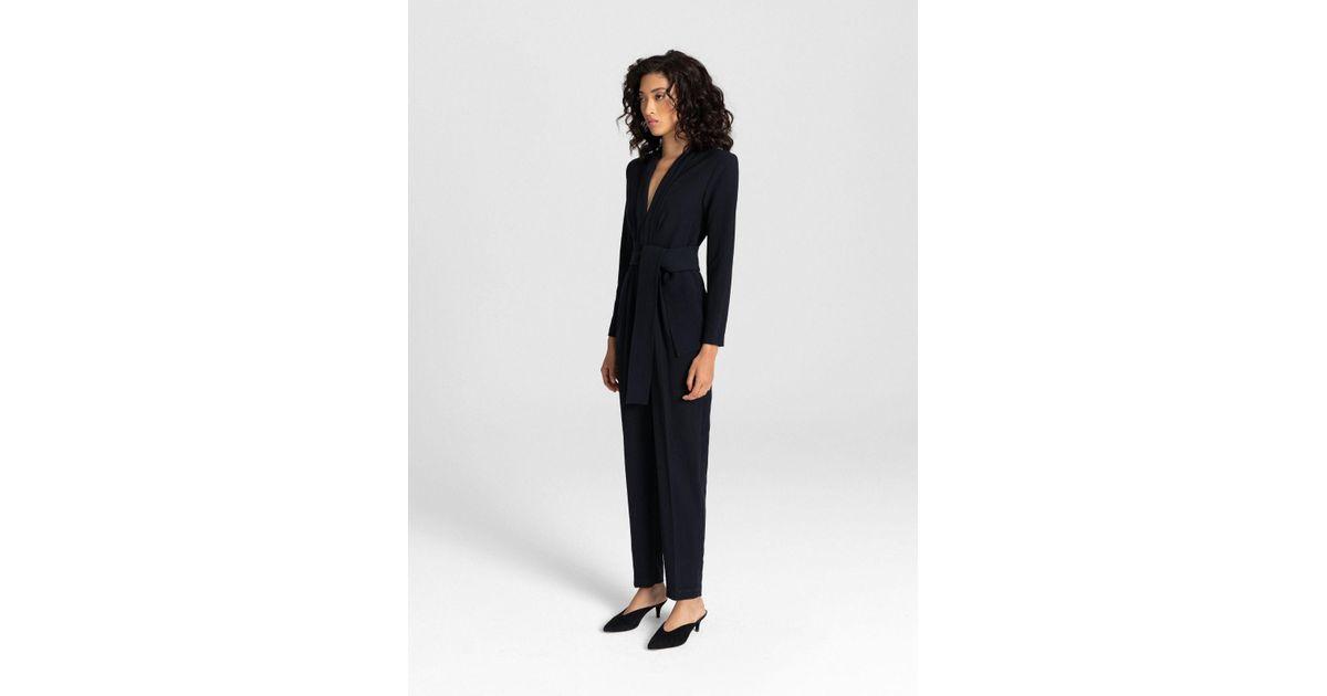 575ccdfbb9c0 Lyst - A.L.C. Kieran Jumpsuit in Black