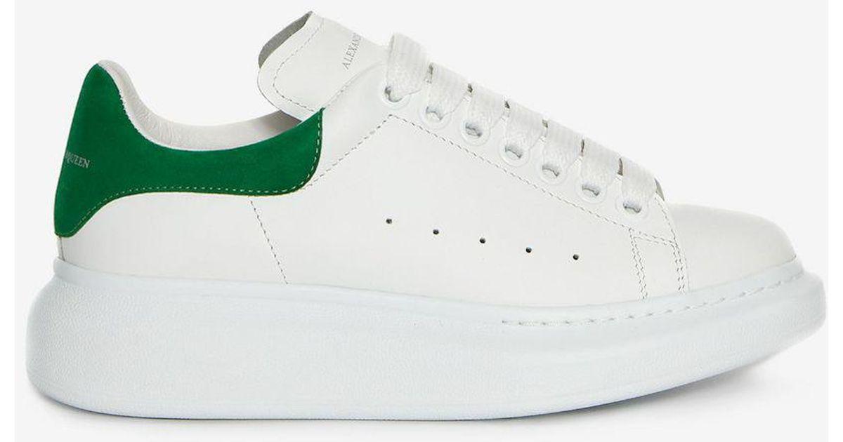 Green Embroidered Oversized Sneakers Alexander McQueen 67qPpCCAt