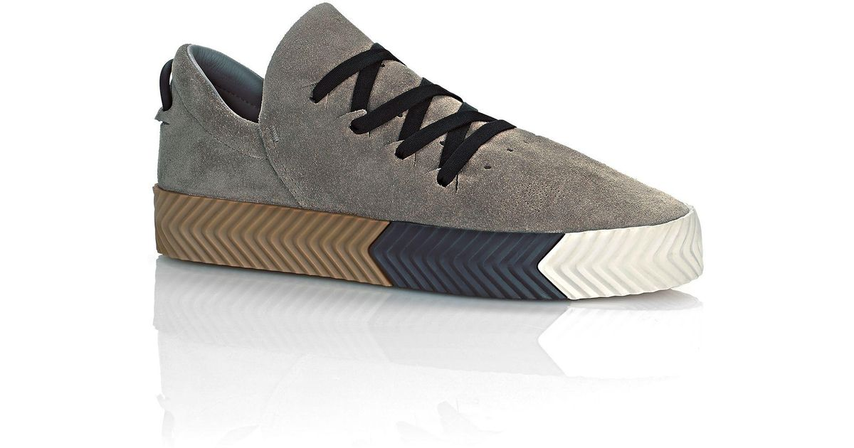 0d43d7ff Alexander Wang Adidas Originals By Aw Skate Shoes in Gray - Lyst