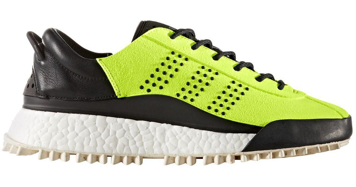 los angeles 628a8 fda33 Alexander Wang Adidas Originals By Aw Hike Lo Shoes in Yellow - Lyst