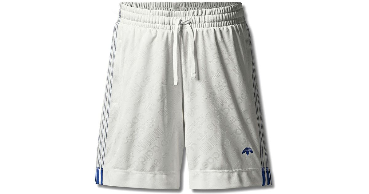 db3782816 Alexander Wang Adidas Originals By Aw Soccer Shorts in White for Men - Lyst