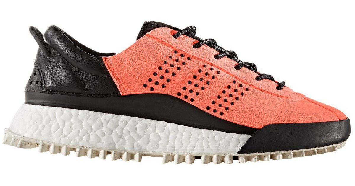 5dd29e2a0262 Lyst - Alexander Wang Adidas Originals By Aw Hike Lo Shoes in Orange