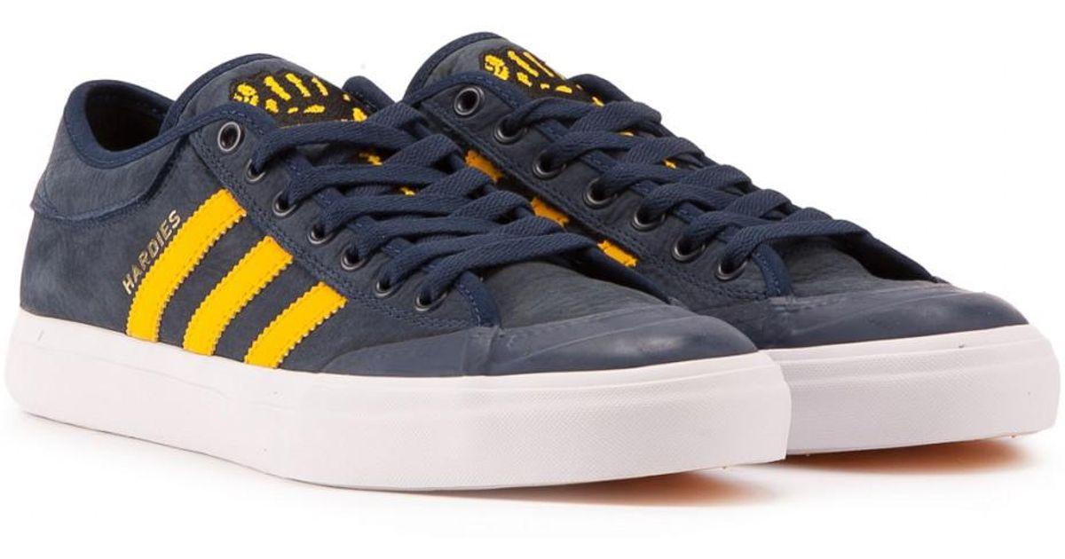 9f4c3f24aad7 Adidas Originals Adidas Matchcourt Hardies in Blue for Men - Lyst