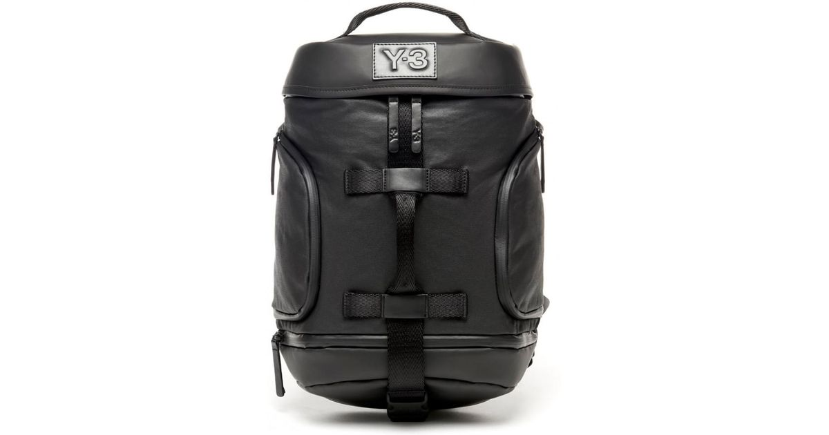Lyst - Y-3 Icon Backpack Small in Black for Men 5982983b337c4