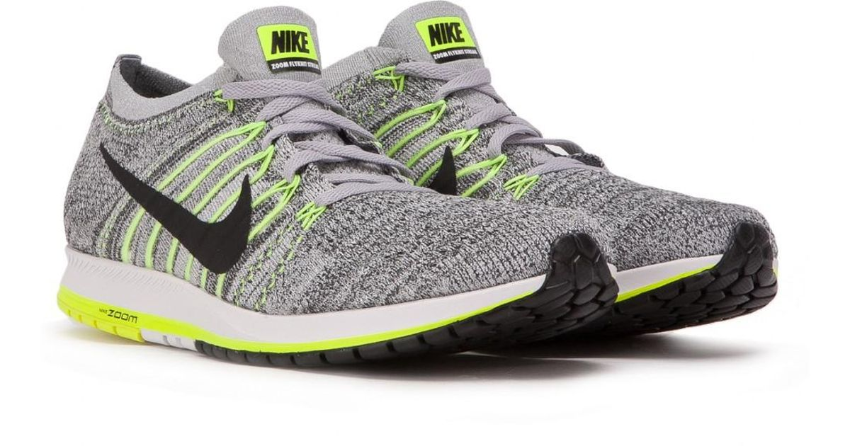 d5fa759165fe1 Lyst - Nike Nike Air Zoom Flyknit Streak 6 in Gray for Men