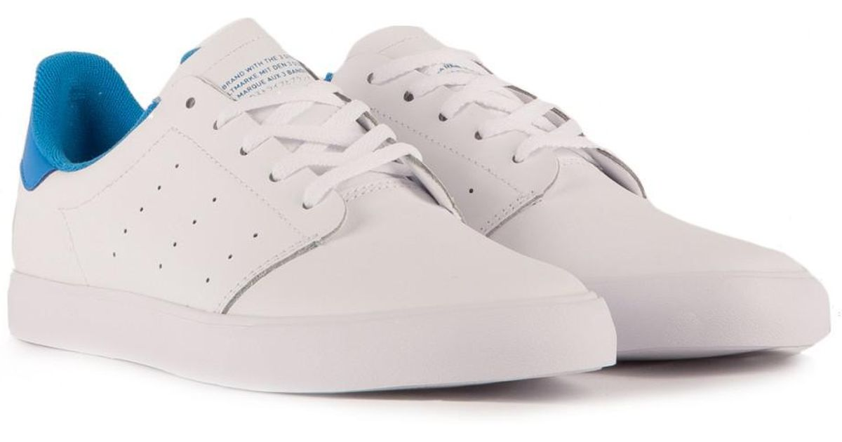 outlet store 70d1c a1682 Lyst - adidas Originals Adidas Seeley Court in White for Men