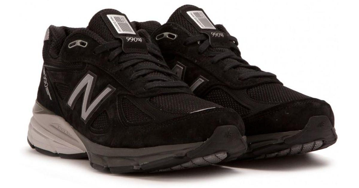 on sale 81019 c7448 New Balance M 990 Bk4 in Black for Men - Lyst