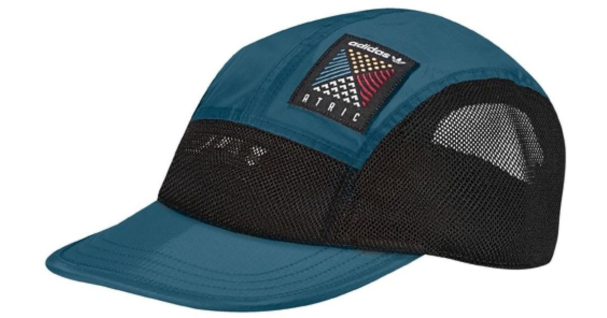 Lyst - adidas Atric 5 Panel Cap in Blue for Men b6003a1be73