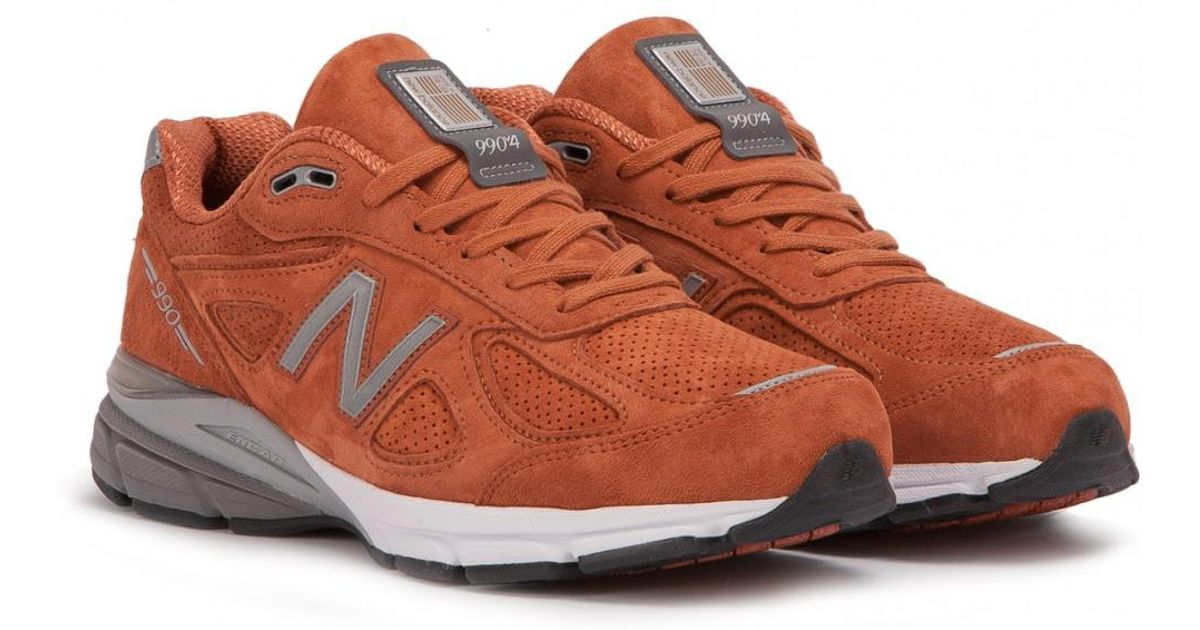 purchase cheap 96cca 216b8 New Balance M 990 Jp4 in Orange for Men - Lyst