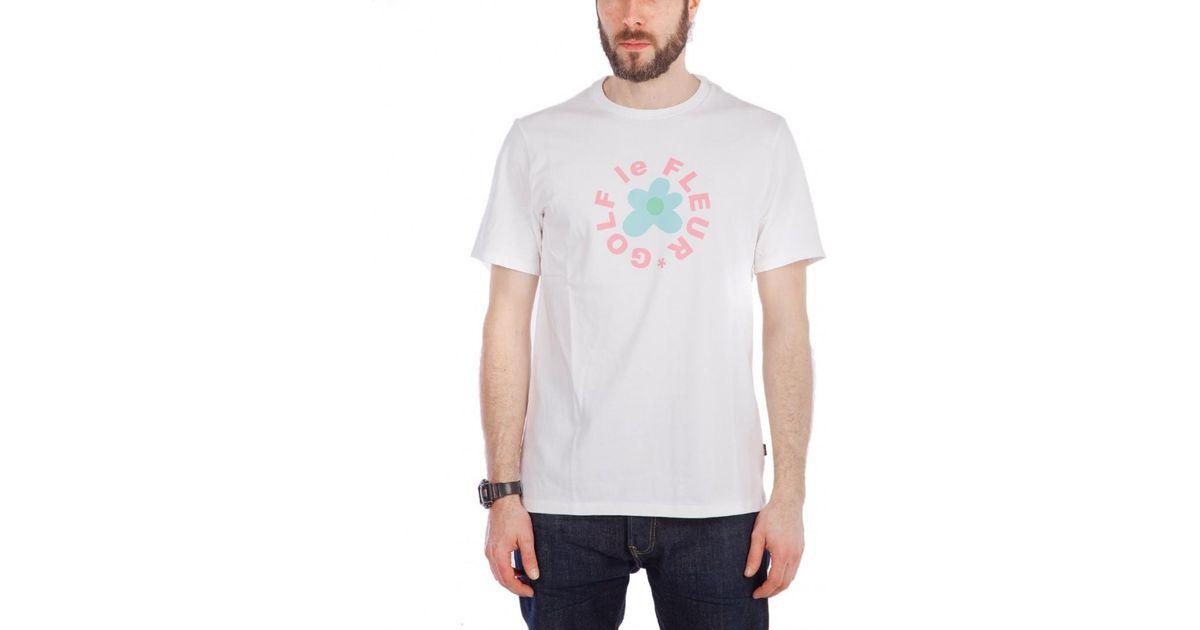 a955c5c5cf1d Lyst - Converse X Golf Le Fleur T-shirt in White for Men