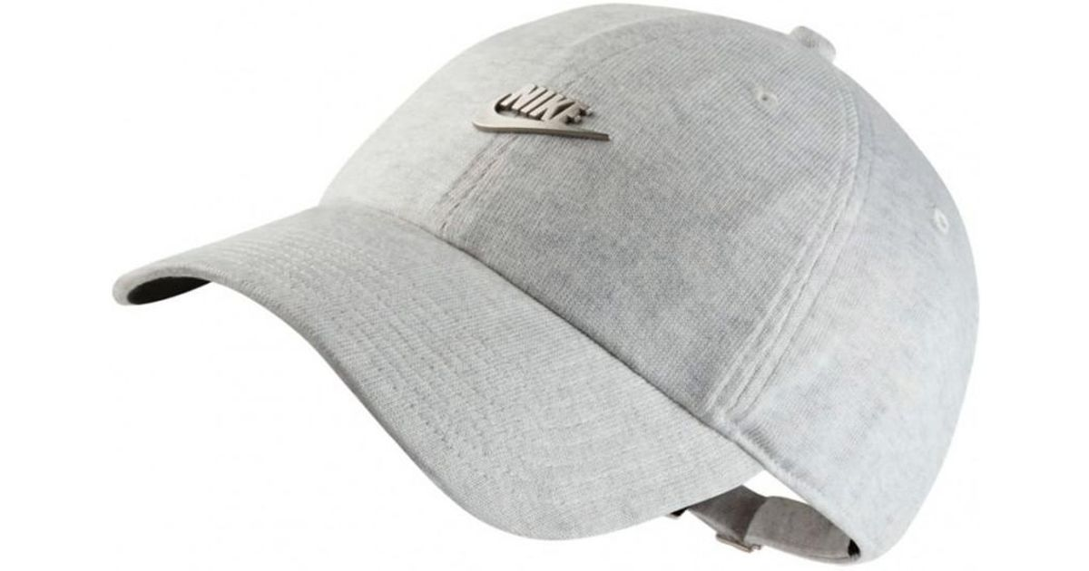 712b86482450b Nike Nike Nsw H86 Cap Metal Futura in Gray for Men - Lyst