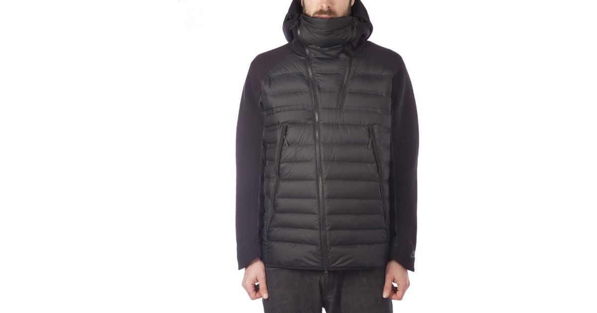 Lyst - Nike Nike Tech Fleece Aeroloft Jacket in Black for Men 53782768b2c3