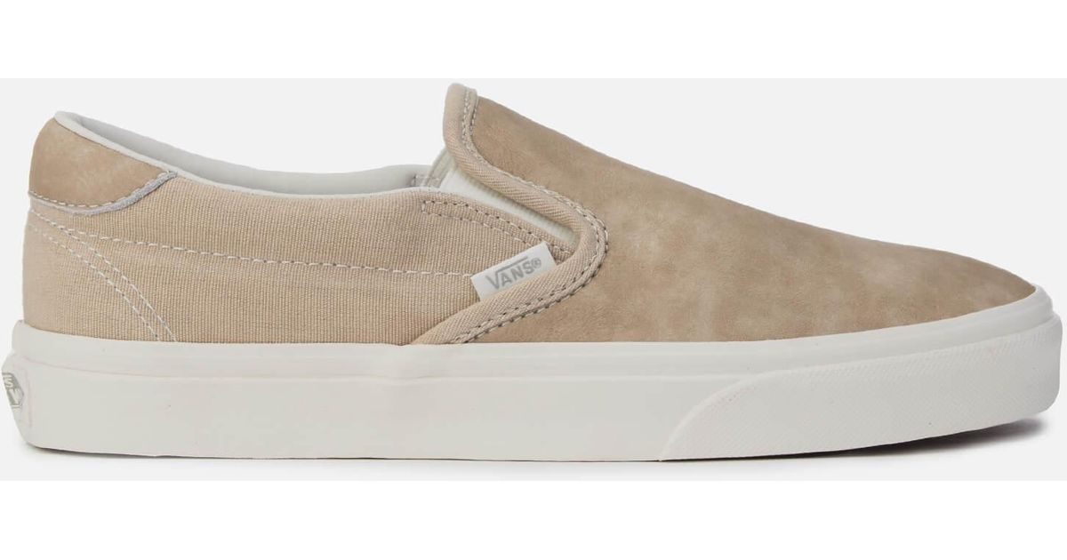 c9eab13d94f755 Lyst - Vans Washed Nubuck Slip-on 59 Trainers for Men