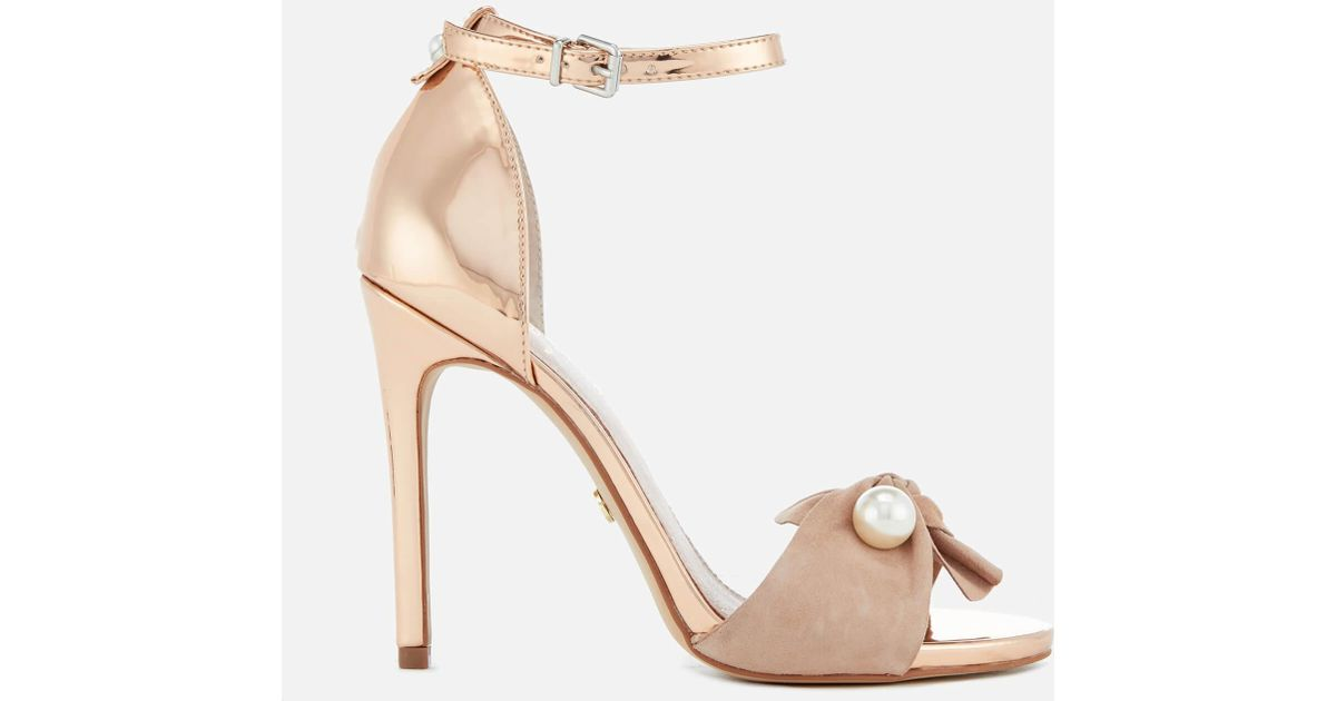 Cheap Price Free Shipping Sale Reliable Kurt Geiger Flynn - nude platform heeled sandals Outlet Manchester Finishline For Sale Store Sale Minl9pYO