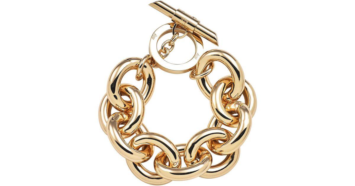 Amanda Wakeley Chunky Gold Bracelet WSazE8Q