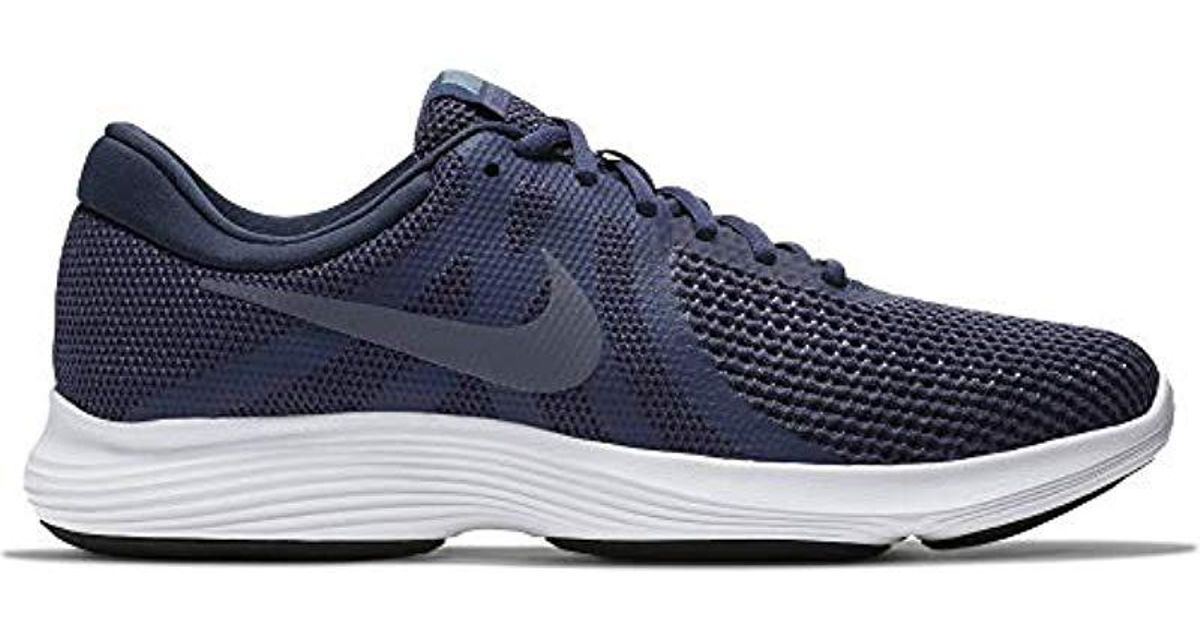 3ad51bd57acf8 Lyst - Nike Revolution 4 Running Shoe in Blue for Men - Save 57%
