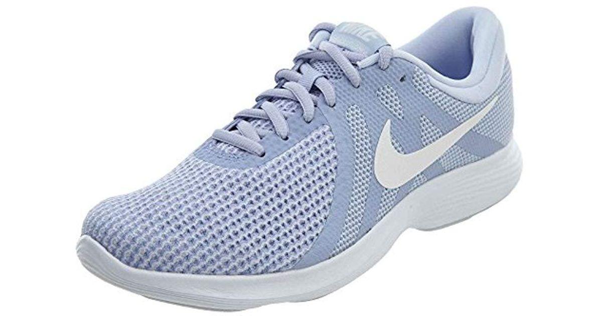 901c03e32d279 Lyst - Nike Wmns Revolution 4 Running Shoe in Blue