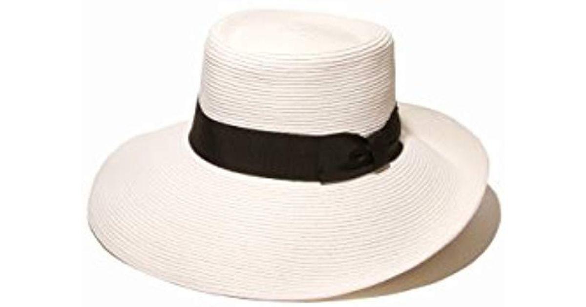 Lyst - Gottex San Santana Packable Sun Hat 4ca79e96738b