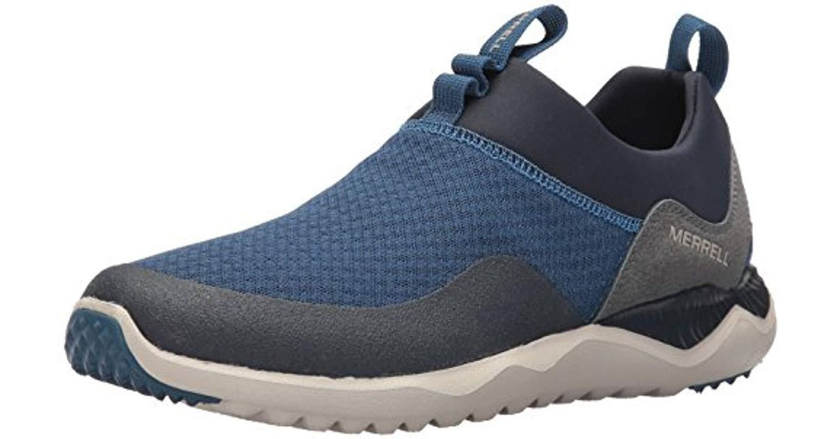 amazing quality marketable release date: Merrell - Blue 1six8 Mesh Moc Fashion Sneaker for Men - Lyst