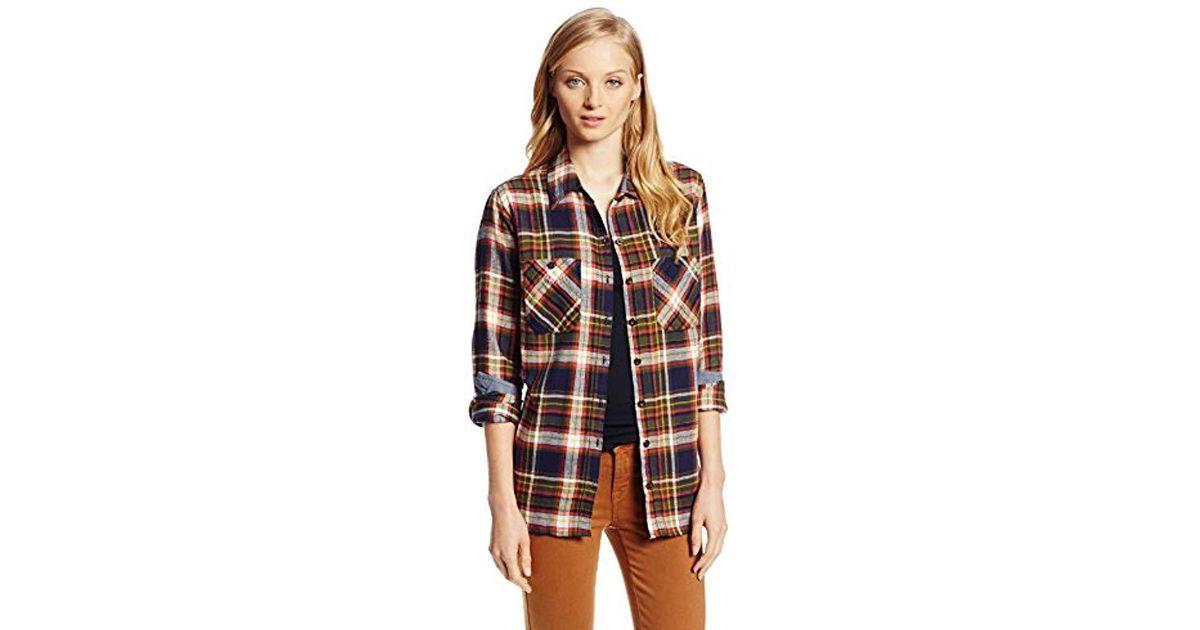 70768d155 Lyst - Dickies Herringbone Flannel Shirt in Red