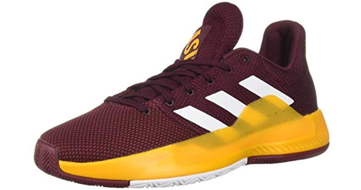 38a5f22a844d76 Lyst - adidas Pro Bounce Madness Low 2019 in Purple for Men
