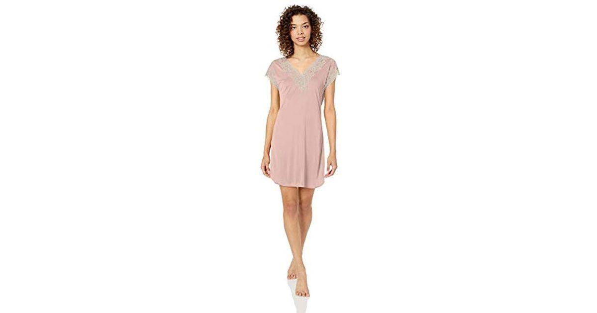 Lyst - Natori Enchant Sleepshirt in Pink 71495e52d