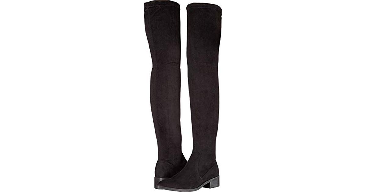 00a56e43ac4 Lyst - Steve Madden Jestik Over The Over The Knee Boot in Black