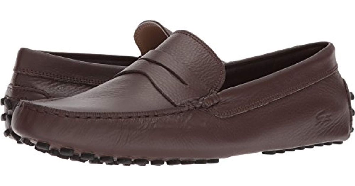 051523b22d95 Lyst - Lacoste Concours 118 1 Driving Style Loafer in Brown for Men