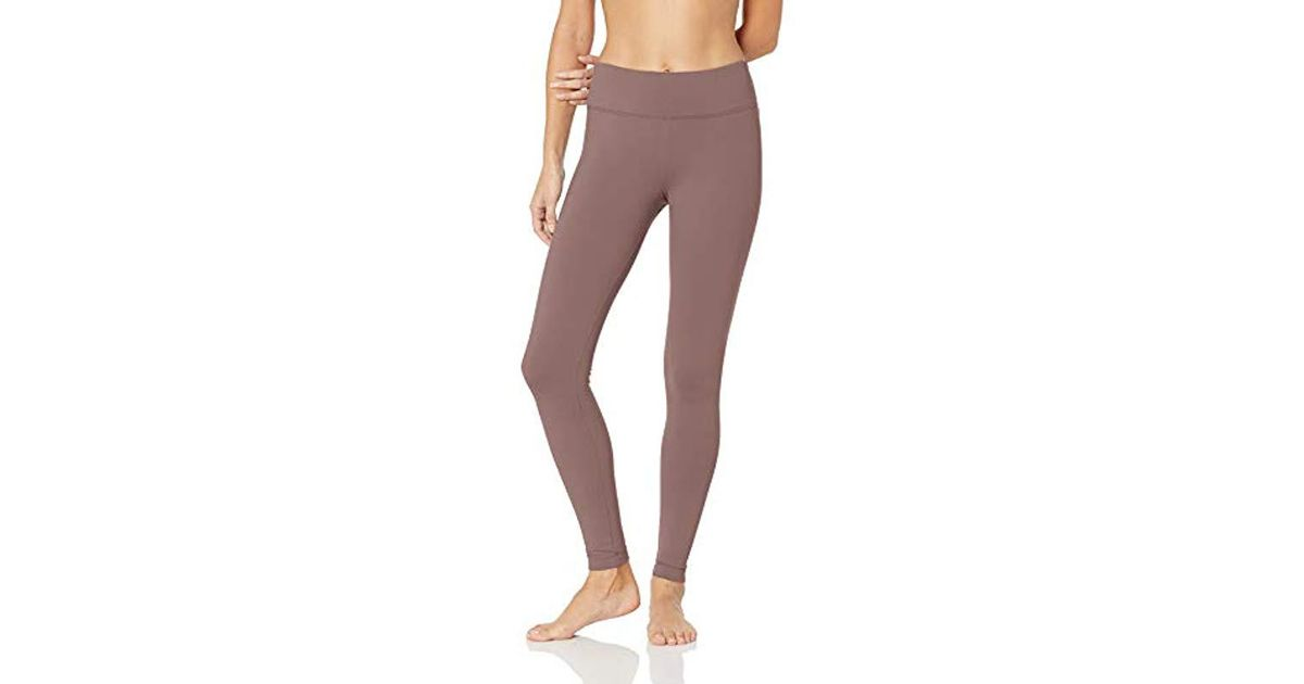 f126e252ea5158 Danskin Signature Wide Waist Yoga Ankle Legging in Purple - Lyst