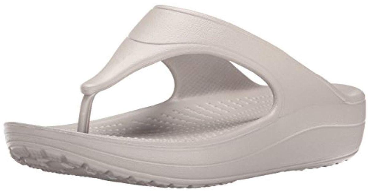 4e73c87e9c8 Lyst - Crocs™ Sloane Platform Flip-flop