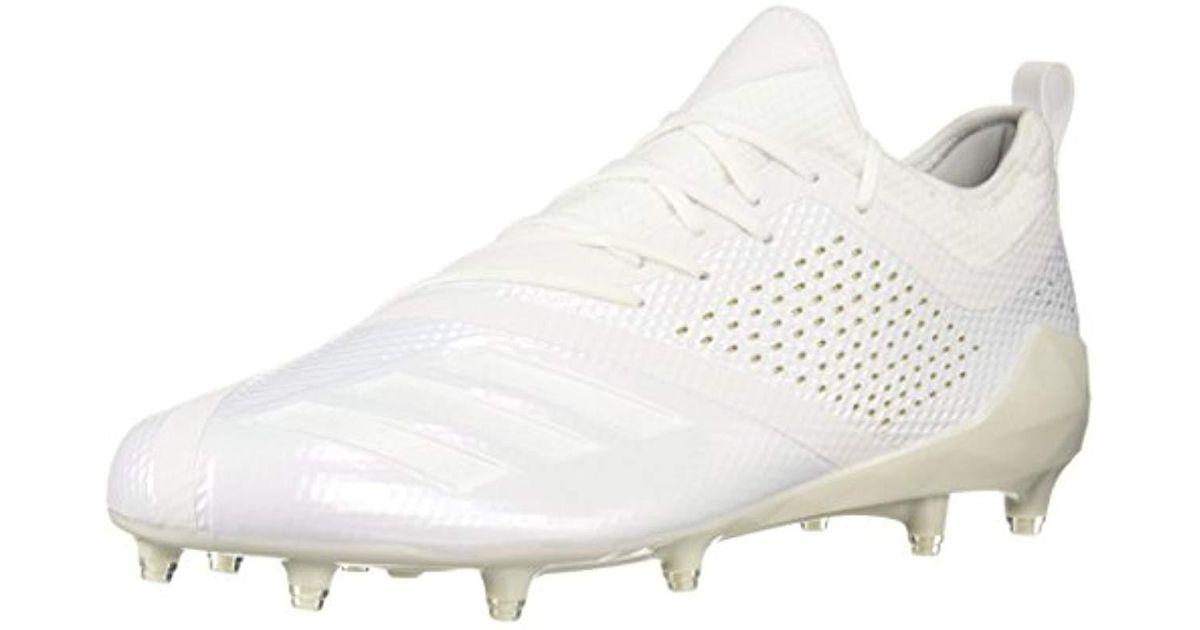 Lyst - adidas Adizero 5-star 7.0 Football Shoe in White for Men 4a3b4fbfcaa