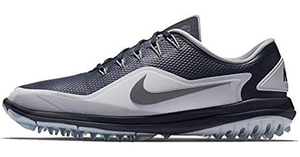 the latest 908d1 0e848 Nike Golf Lunar Control Ii Golf Shoe in Blue - Lyst