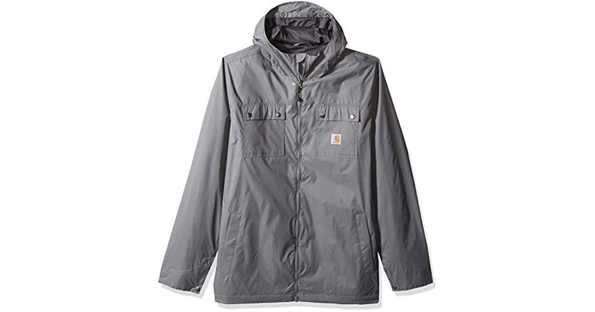 ebd04f2e32fe Lyst - Carhartt Big And Tall Big   Tall Rockford Jacket in Gray for Men