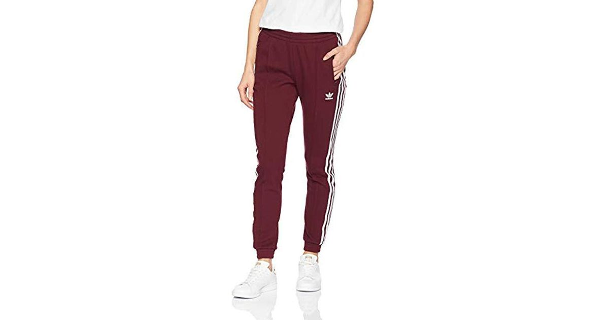 timeless design b8396 b6746 Lyst - adidas Originals Originals Colorado Superstar Trackpants in Red