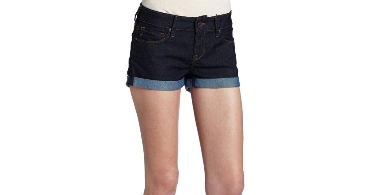 f5e40f2574 Lyst - Mavi Tiara Super Stretch Shorts in Blue