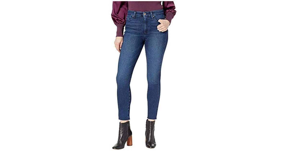 b52099d1f3fab Lyst - Joe S Jeans Charlie High Rise Skinny Crop Jean in Blue