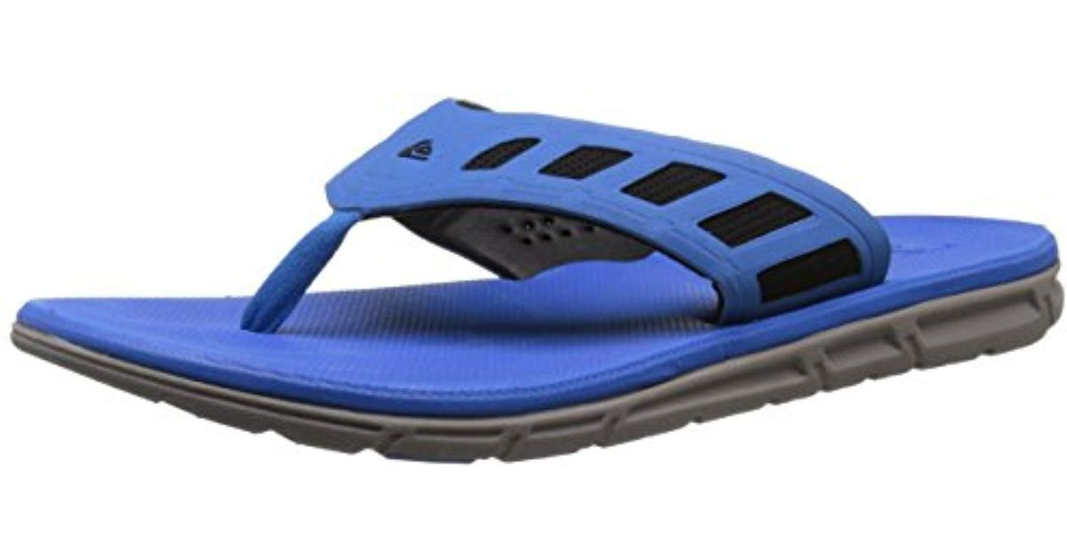 887391a84 Lyst - Quiksilver Ag47 Flux 3 Point Sandal in Blue for Men