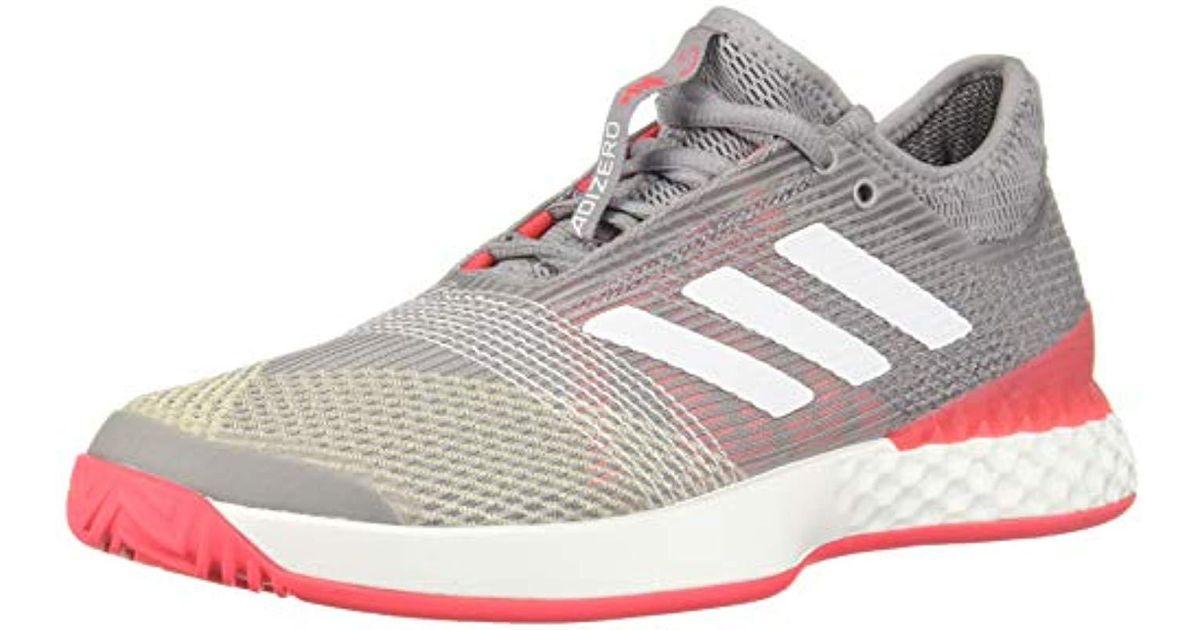 8ba72a25b Lyst - adidas Adizero Ubersonic 3 Tennis Shoe in Red for Men