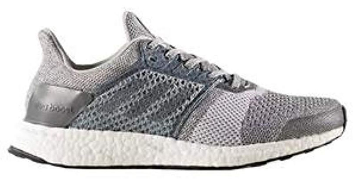 38f0176eb1b7e Lyst - adidas Ultraboost St Parley Running Shoe in Gray