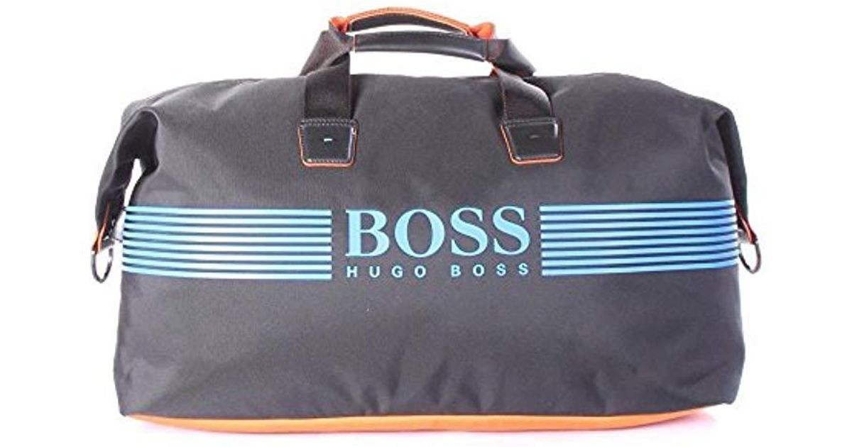 f4b27a23c Lyst - BOSS Pixel Zt_holdall 100% Polyamide Travel Bag Bags in Black for Men