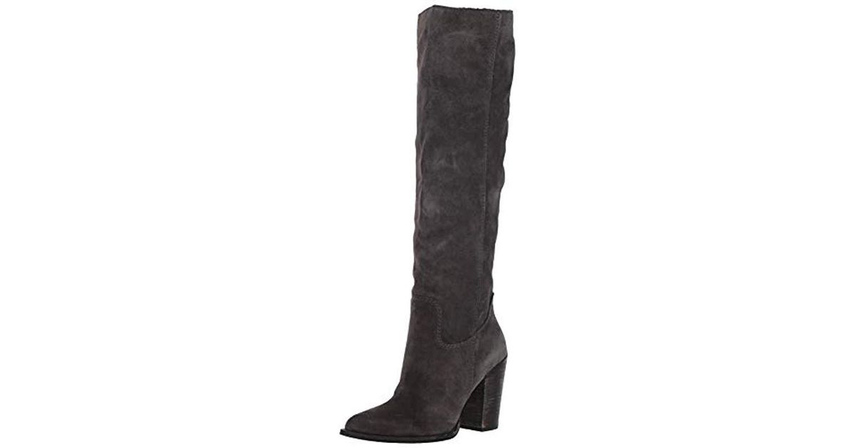 0d17f377d10 Lyst - Dolce Vita Kylar Knee High Boot in Gray - Save 55%
