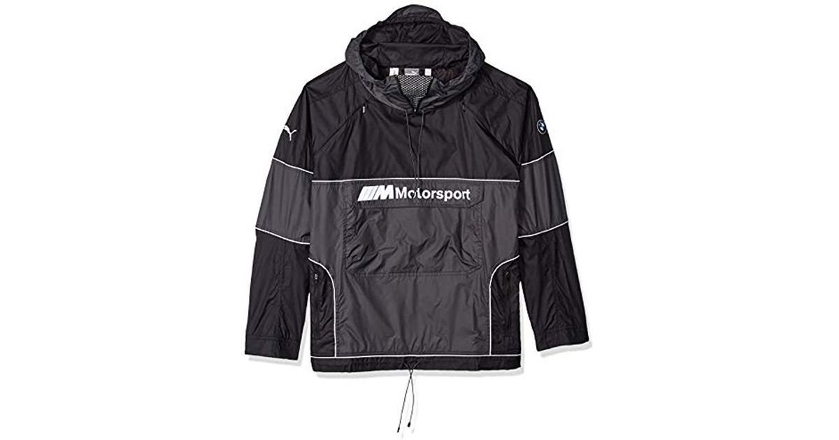 PUMA Black Bmw Motorsport React Jacket for Men Lyst