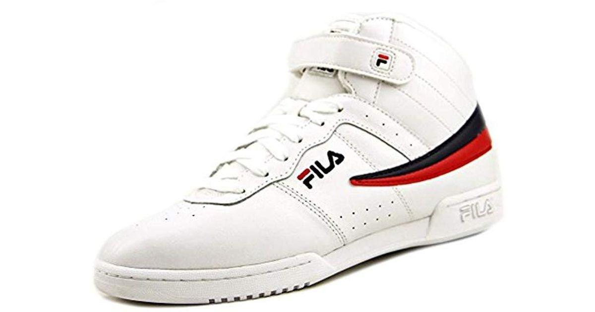 Fila White Vulc 13 Mid Plus Walking Shoe for Men Lyst