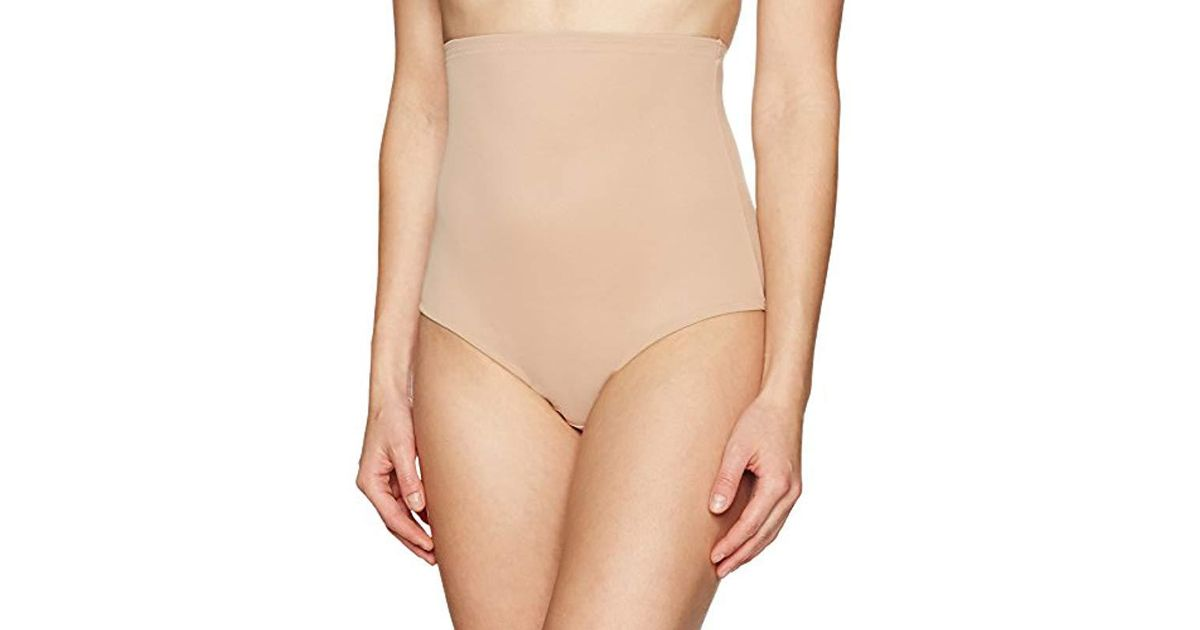 9efc5d0c21 Lyst - Arabella Smoothing High-waist Brief Shapewear With Tummy Control in  Natural
