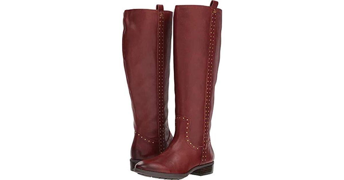 9891bcd5f Lyst - Sam Edelman Prina 2 Knee High Boot in Brown