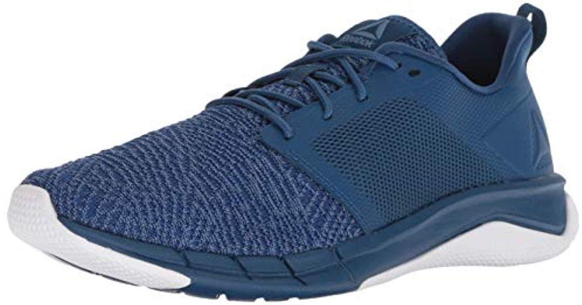 dfd8e21aee91fb Lyst - Reebok Print Run 3.0 Shoe in Blue for Men