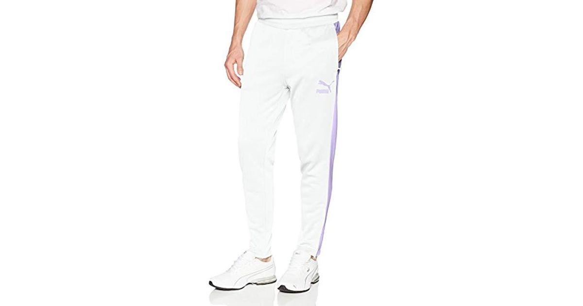 5d822a8f5dc4 Lyst - PUMA Archive T7 Track Pants in White for Men