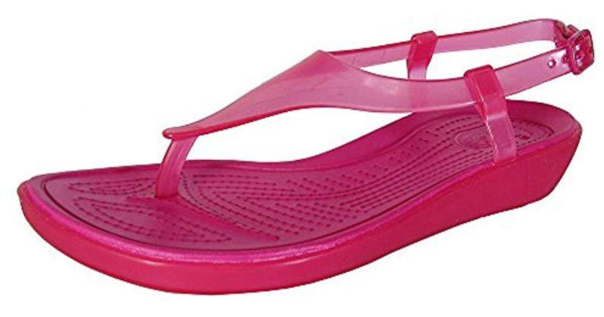 Crocs really sexi t strap sandal