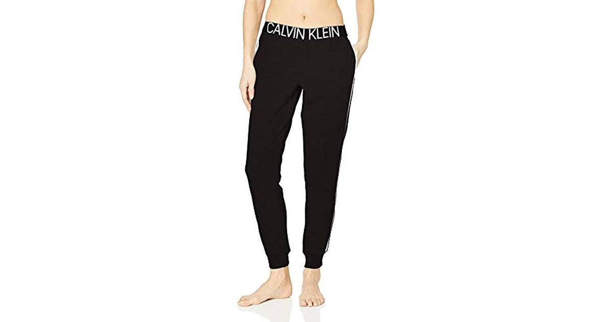01763e13a5 Lyst - Calvin Klein Statement 1981 Jogger Sweatpant in Black
