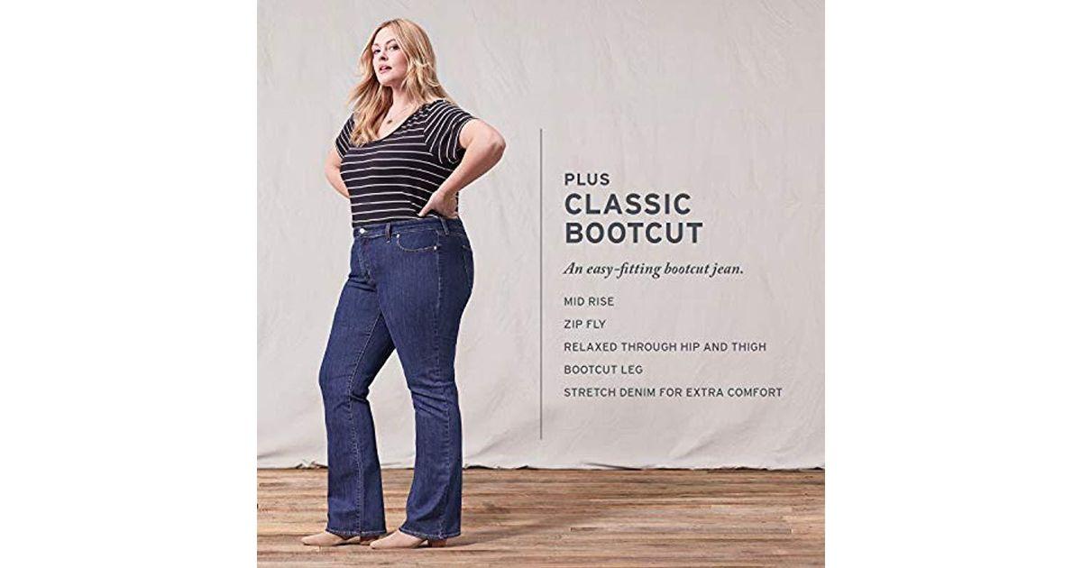 a10f3e4f8d7 Lyst - Levi's Plus-size 415 Classic Bootcut Jeans
